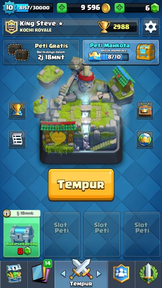 Arena 10 7 Legendary | Card Mantap