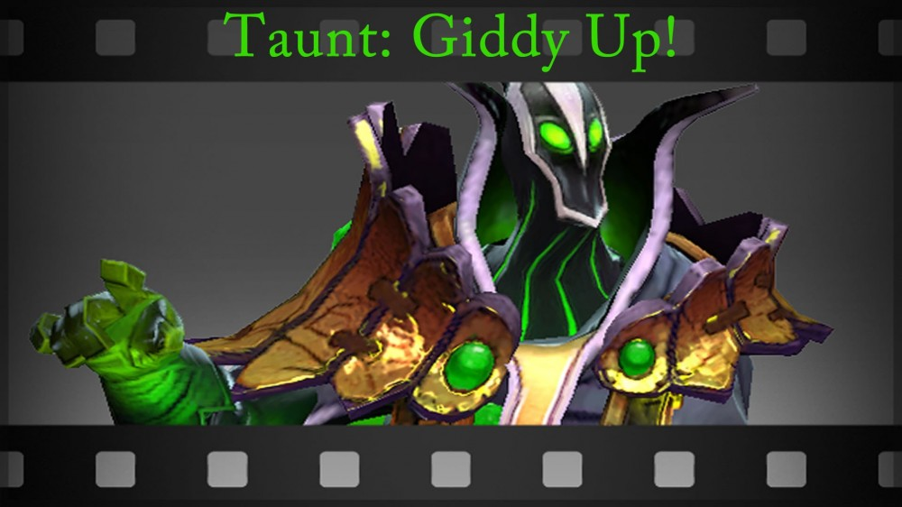 Taunt: Giddy Up!