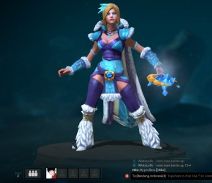 Frostiron Sorceress (Crystal Maiden Set)