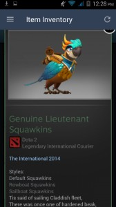 Genuine Lieutenant Squawkins (Courier) full unlock