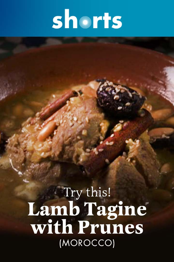 Try This! Lamb Tagine With Prunes, Morocco