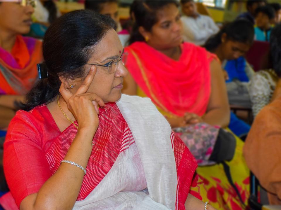 Indira Balakrishna - Managing Trustee of Janapada Loka