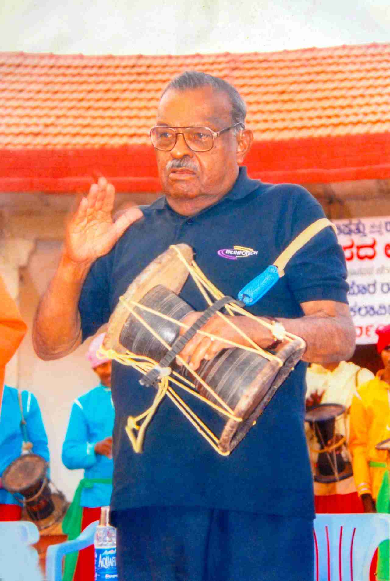 H.L. Nage Gowda - Founder of Janapada Loka