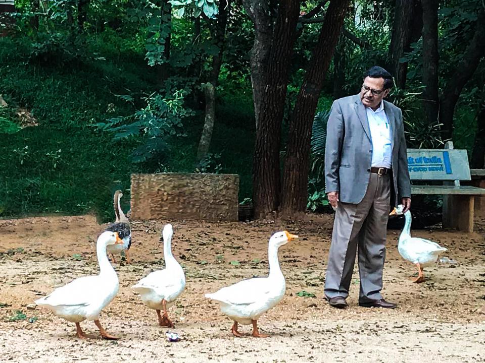 T. Thimme Gowda - Chairman of Janapada Loka