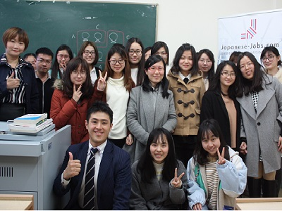 Japanese-Jobs.com coming to Shanghai International Studies University!
