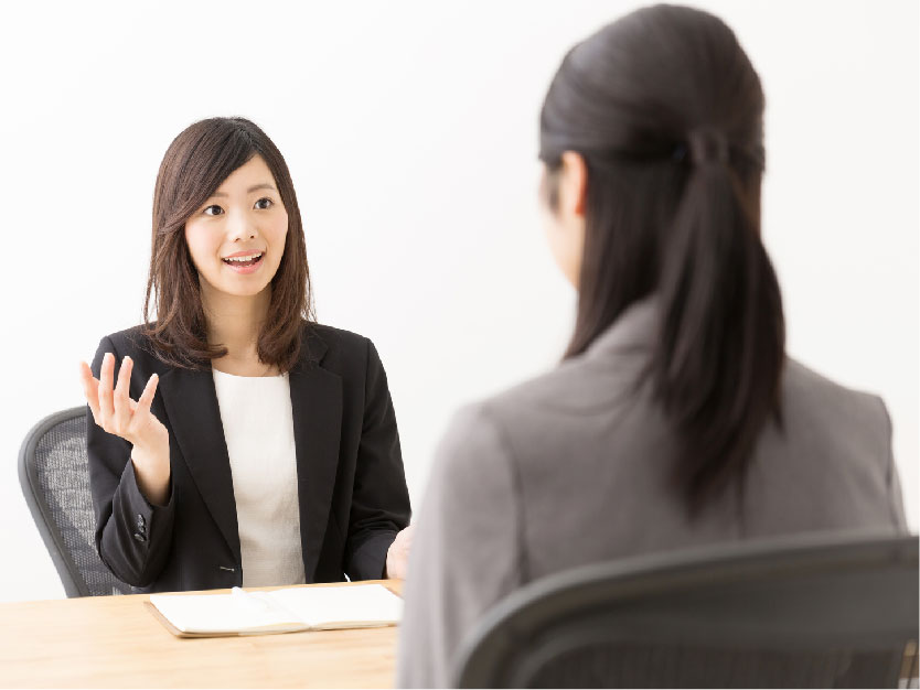 The attractive self-presentation method during the Japanese company interview