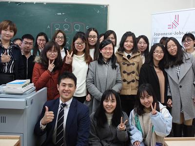 Triển khai chương trình CSR Recruit WORKFIT Program tại Khoa ngôn ngữ Nhật – Trường Đại học ngoại ngữ Thượng Hải