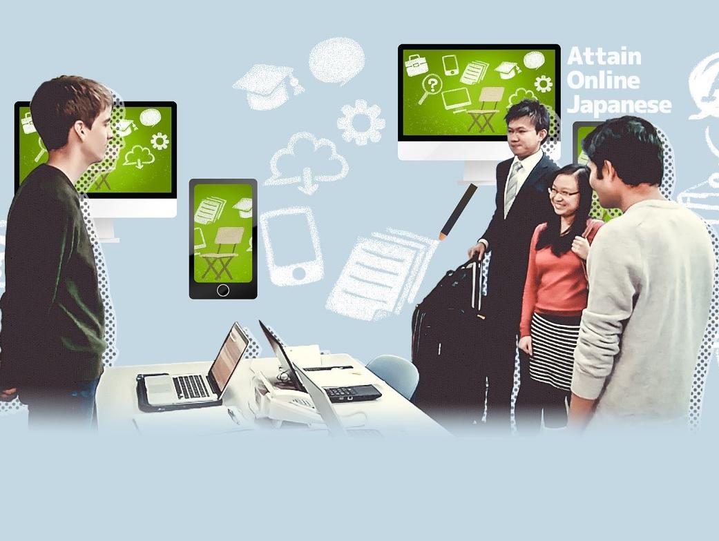 Japanese-Jobs.com kết hợp với Công ty Cổ phần Attain cho ra mắt dịch vụ e-Learning Solution – nhằm hỗ trợ tốt hơn cho những người mong muốn sử dụng tiếng Nhật của mình để làm việc.