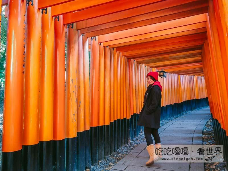 吃吃喝喝看世界 京都藝伎回憶錄千本鳥居