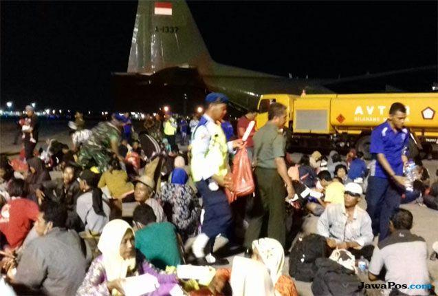 Pengungsi Gempa di Palu