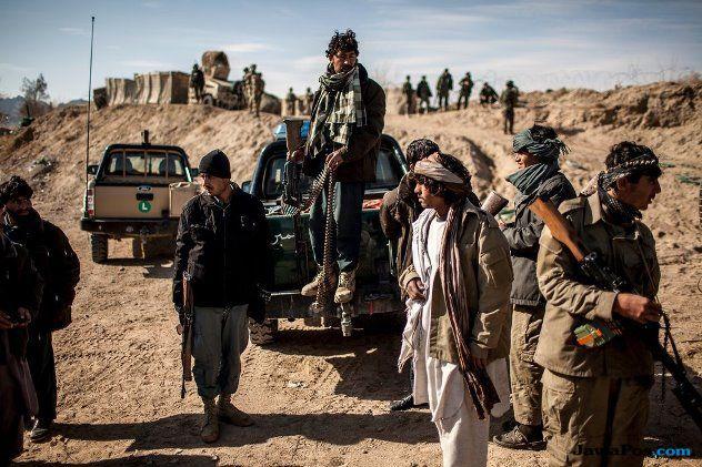 tentara isis menyerah di afghanistan