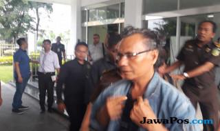 Tersangka kasus dugaan korupsi pengerjaan rigid beton Dinas PU Sibolga