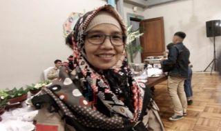 Komisioner KPU Kota Malang, Aminah.