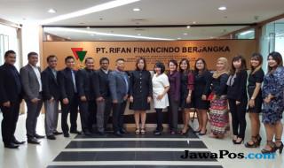 PT Rifan Financindo Berjangka Medan bersama tenaga profesional Wakil Pialang Berjangka