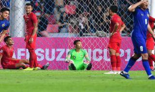 Piala AFF 2018, Timnas Indonesia, Timnas Thailand, Thailand 4-2 Indonesia