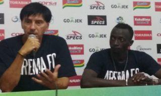 Arema FC, Milan Petrovic, Liga 1 2018, Perseru Serui