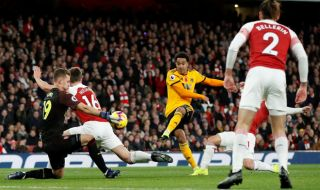 Premier League 2018-2019, Liga Inggris, Arsenal, Wolverhampton, Arsenal 1-1 Wolverhampton