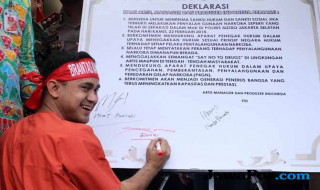 Deklarasi Cegah dan Berantas Narkoba