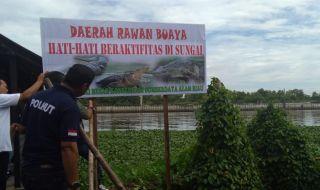 Sungai Siak Rawan Buaya
