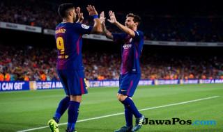 Luis Suarez, Lionel Messi, Barcelona, Girona, LaLiga