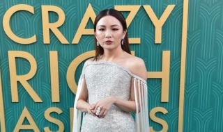 Constance Wu, gaun Ralph & Russo, Crazy Rich Asians,