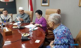 Megawati dan Imam Besar Al Azhar