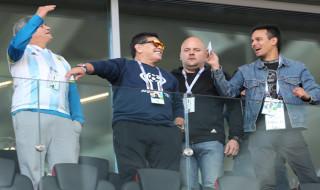 Diego Maradona, Timnas Argentina, Piala Dunia 2018, Laporan Langsung, Laporan Langsung dari Rusia