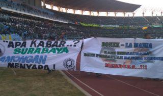 Bonek, LA Mania, Persebaya Surabaya, Persela Lamongan, Liga 1 2018