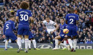 Premier league 2018-2019, Liga Inggris, Chelsea, Everton, Chelsea 0-0 Everton