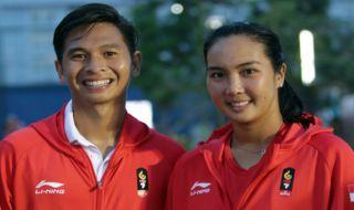 Asian Games 2018, tenis,Christopher Rungkat/Aldila Sutjiadi, Indonesia, Olimpiade Tokyo 2020