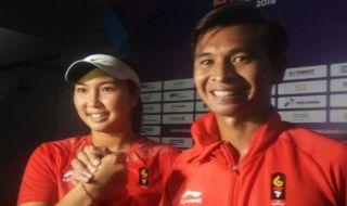 Asian Games 2018, tenis,Christopher Rungkat/Aldila Sutjiadi, Indonesia