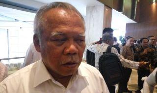 Menteri Pekerjaan Umum dan Perumahan Rakyat (PUPR) Basuki Hadimudjono gempa lombok