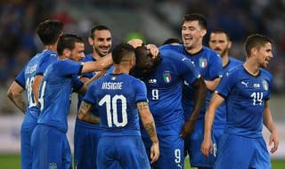 Timnas Italia, Mario Balotelli, Roberto Mancini, Timnas Arab Saudi,