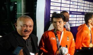 Asian Games 2018, Panjat Tebing, Indonesia, Muhammad Hinayah, Medali Emas