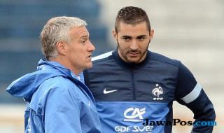Karim Benzema, Didier Deschamps, Timnas Prancis