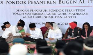 Jokowi di Bugen