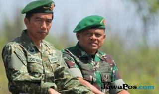 Jokowi dan Gatot Nurmantyo