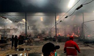 Pabrik Mebel Terbakar