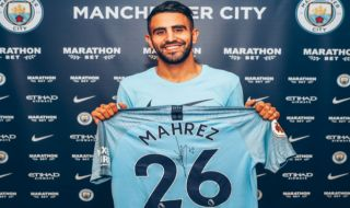 Bursa transfer pemain, Manchester City, Leicester City, Riyad Mahrez