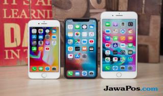 iPhone 8, iPhone 8 Plus, iPhone X.