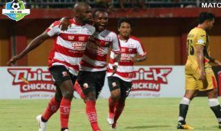 Madura United, Mitra Kukar, Liga 1 2018, Greg Nwokolo, Mamadou Samassa