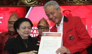 Megawati dan Ganjar