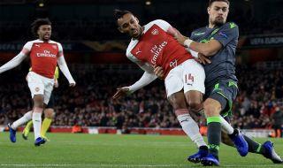 Liga Europa 2018-2019, Arsenal, Sporting CP, Arsenal 0-0 Sporting CP
