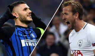 Liga Champions, Inter Milan, Tottenham Hotspur, Inter Milan vs Toittenham Hotspur, Mauro Icardi, Harry Kane