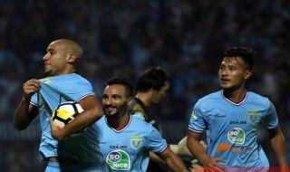 Persela 2-0 Bhayangkara FC, Persela Lamongan, Bhayangkara FC, Liga 1 2018, Loris Arnaud