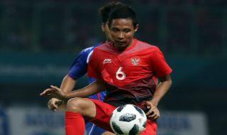 Evan Dimas Darmono, Asian Games 2018, Timnas U-23 Indonesia, Palestina