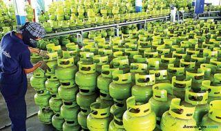 gas LPJ, tabung gas, gas langka daerah