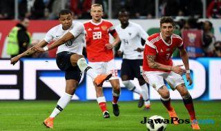 Kylian Mbappe, Timnas Prancis, Timnas Rusia, Piala Dunia 2018,