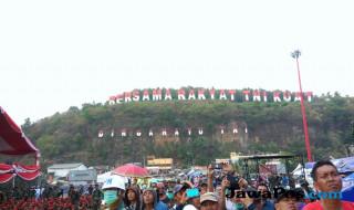 Gladi bersih HUT TNI ke-72