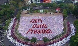 Hoax 2019GantiPresiden